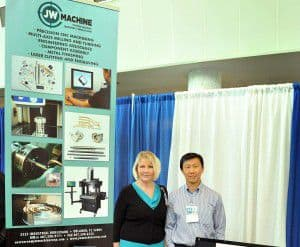 KSC Small Business Expo 2015, JW Machine Precision Machining, Engineering and Manufacturing