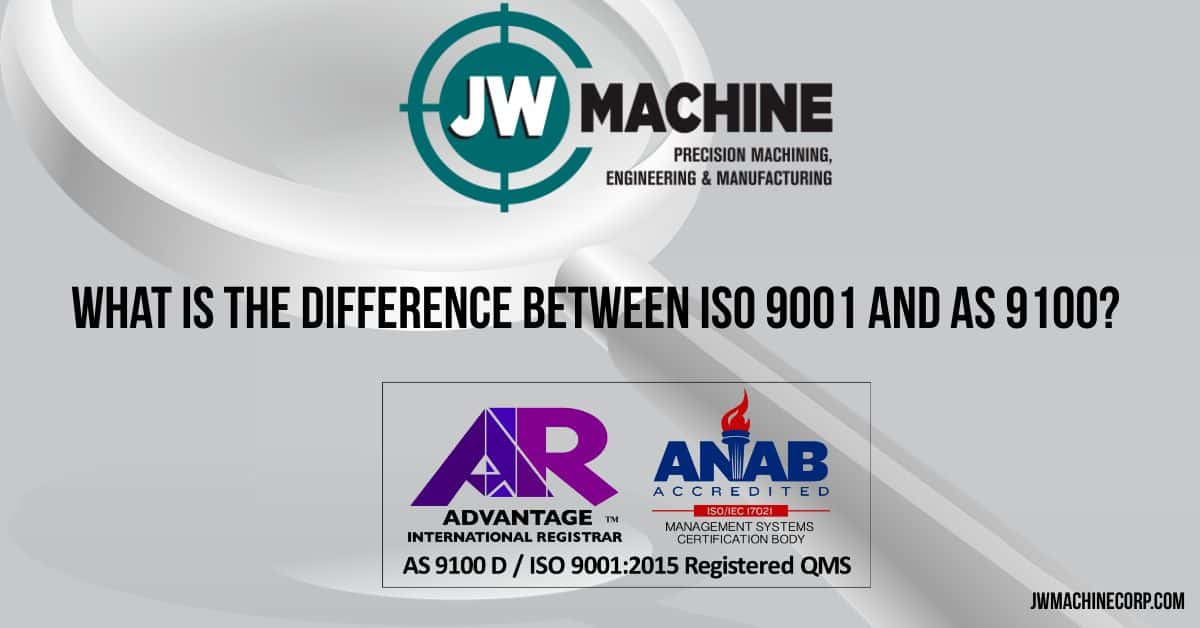 Difference Between ISO 9001 and AS 9100