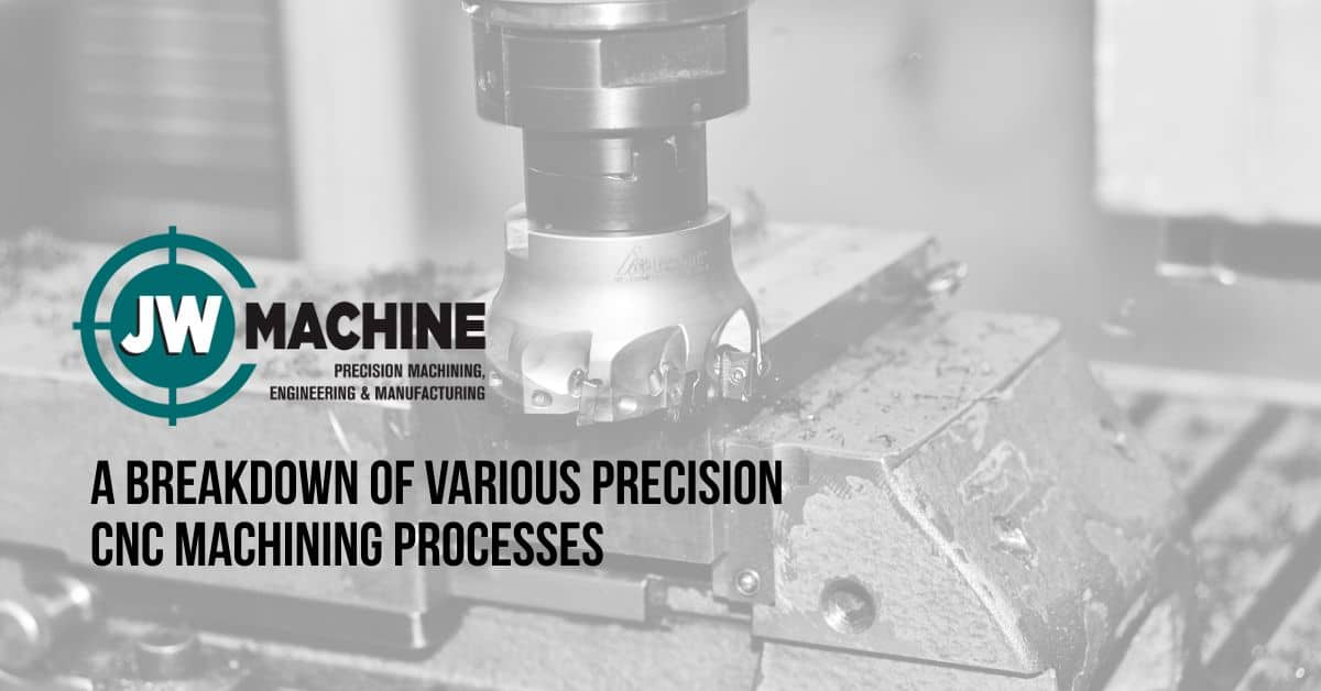 A Breakdown of Various Precision CNC Machining Processes