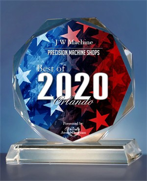 J W Machine Receives 2020 Best of Orlando Award